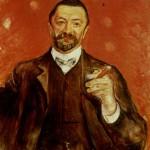 """Portrait Felix Auerbach von/by Edvard Munch """" 1906"""