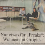 "Newspaper article from the ""Welt""; Artikel in der ""Welt"""